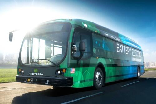 elektriniai autobusai