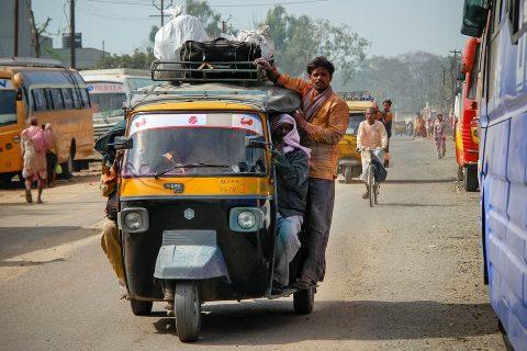 indijos transportas