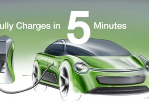 Įkrauti elektromobilius per 5 minutes