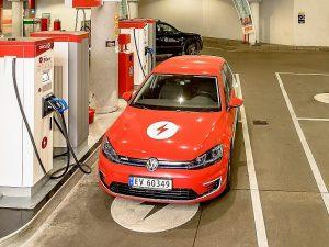 Norvegijoje atidaryta vien elektromobiliams skirta Circle K įkrovimo stotis