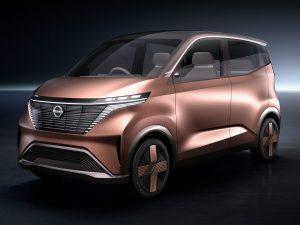 Pristatytas naujas Nissan miesto elektromobilis