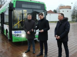 Tauragėje važiuos naujausios kartos ekologiški elektriniai autobusai
