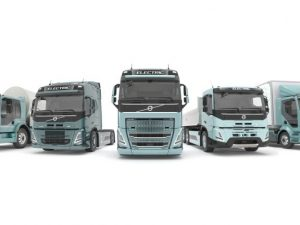 """2021 metais """"Volvo Trucks"""" Europoje pristatys elektrinių sunkvežimių gamą"""