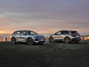 """""""Audi Q4 e-tron"""" ir """"Q4 Sportback e-tron"""" premjera"""