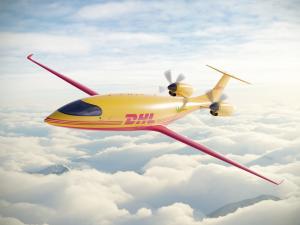 """""""DHL Express"""" užsakė pirmuosius visiškai elektrinius krovininus lėktuvus iš """"Eviation"""""""